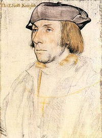 Sir Thomas Elyot drawn by Holbein